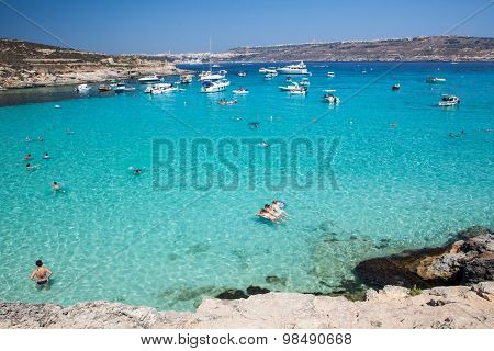 Blue Lagoon At Comino - Malta