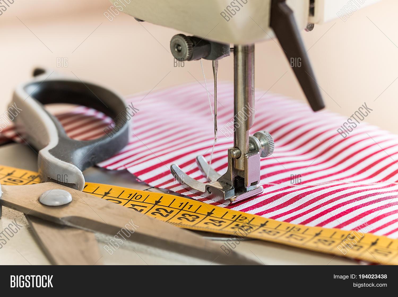 sewing machine hobby image photo free trial bigstock