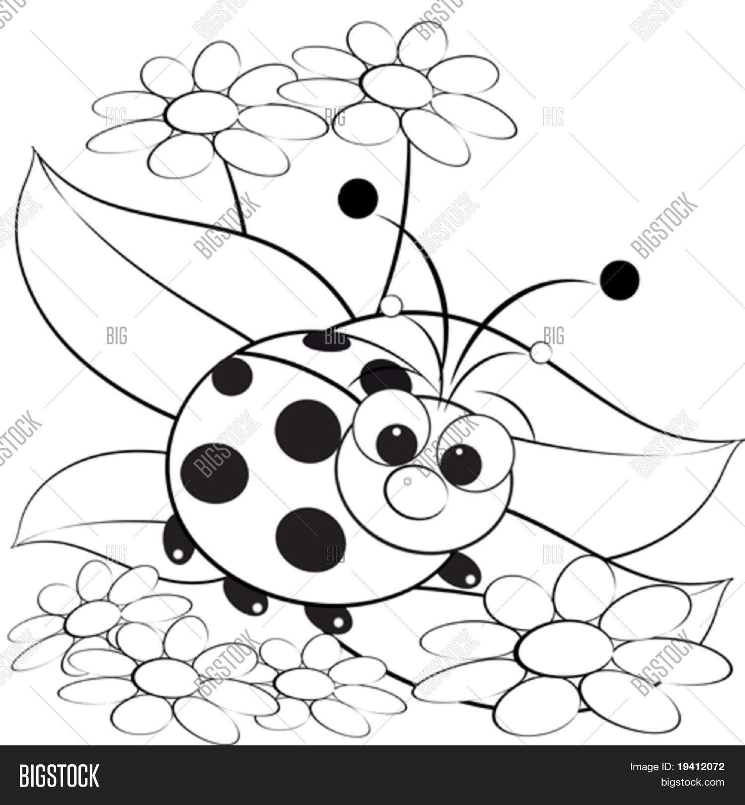Vector y foto Ilustración De Los Niños Con | Bigstock