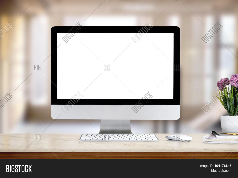 Mock Desk Creative Image Photo Free Trial Bigstock