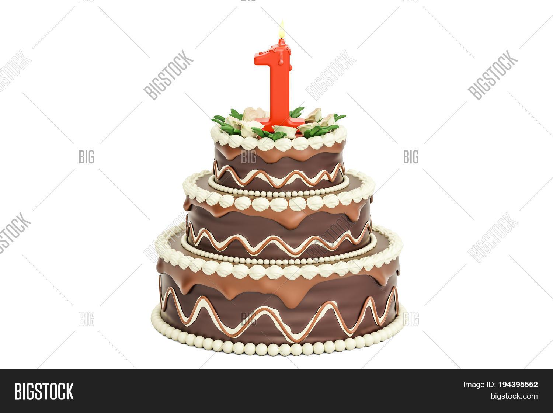 Chocolate Birthday Image Photo Free Trial Bigstock