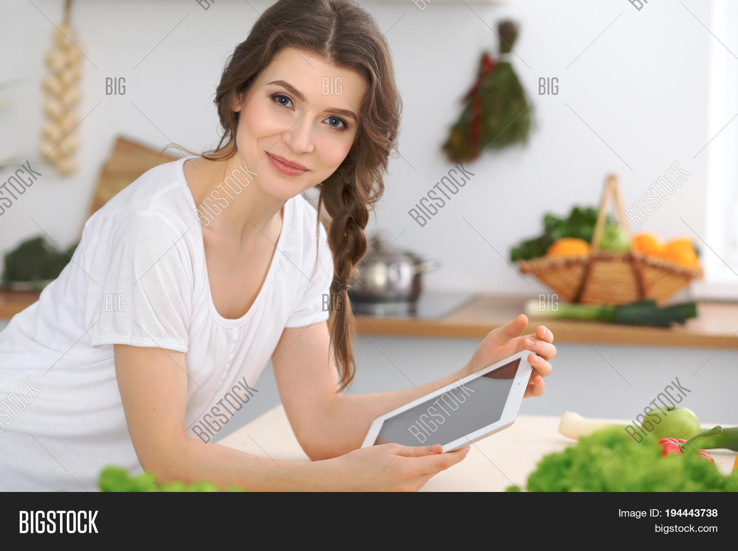 young woman looking image photo free trial bigstock