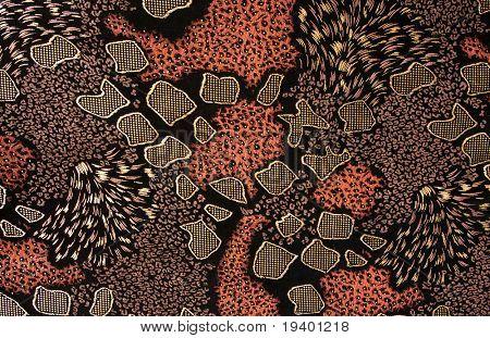 Patrón, tejido de tela