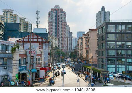 Shanghai Street, China