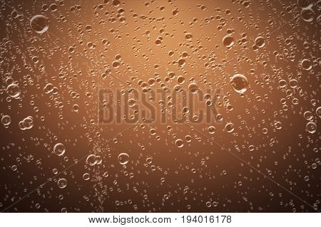 Cola Soda Bubbles Water Background 3D Illustration