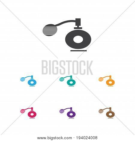 Vector Illustration Of Barbershop Symbol On Aroma Icon. Premium Quality Isolated Deodorant Element In Trendy Flat Style.
