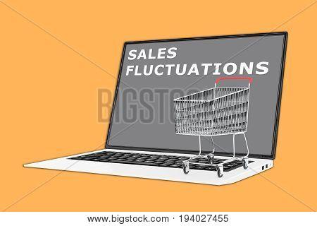 Sales Fluctuations Concept