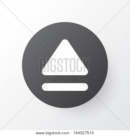Eject Icon Symbol. Premium Quality Isolated Top Element In Trendy Style.