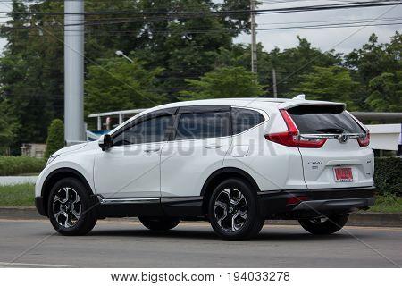 Private New City Suv Car. Honda Crv.