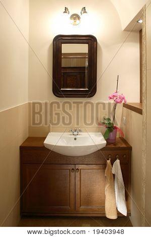 Elegant antique toilet
