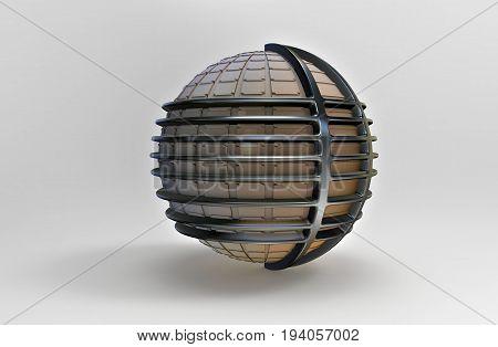 3D Rendering. Sphere