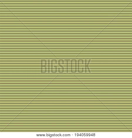 Horizontal Stripes Pattern. Colored Seamless Vector Illustration. Abstract Background of Khaki Lines.