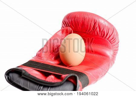 Sport Equipment And Food Isolated On White Background