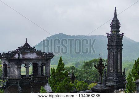 Tomb Of Emperor Khai Dinh, Hue, Vietnam