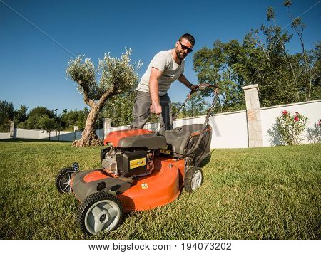 Igniting The Lawnmower