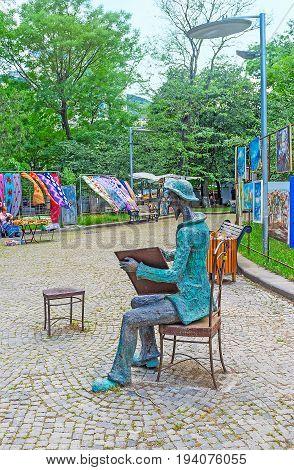 Niko Pirosmani In Dedaena Park In Tbilisi