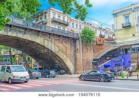 Under The Dry Bridge In Tbilisi