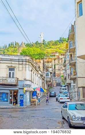 In Streets Of Old Tbilisi