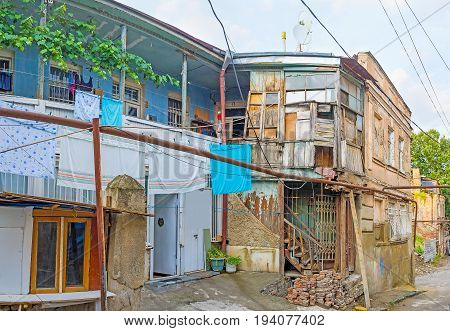 The Housing Of Old Tbilisi