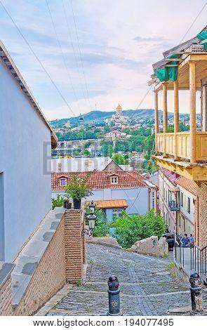 Romantic Walk In Old Tbilisi