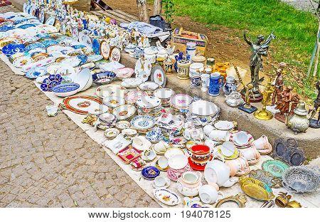 The Flea Market In Tbilisi