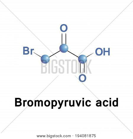 Bromopyruvic acid and its alkaline form bromopyruvate are synthetic brominated derivatives of pyruvic acid. They are lactic acid and pyruvate analogs