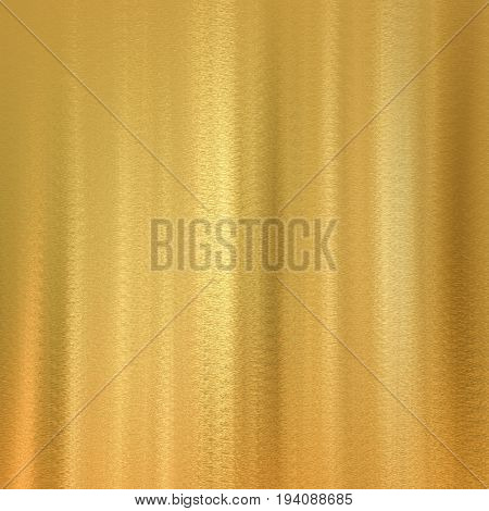 3d rendering golden plate with abstract pattern background