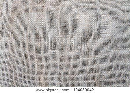 plain tan burlap background with burlap texture
