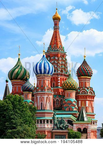 The Cathedral of Vasily the Blessed, Moscow, Russia