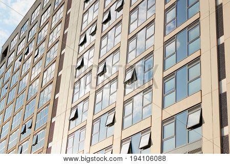 Birmingham, UK - 6 November 2016: Exterior Of Office Buildings In Birmingham City Centre