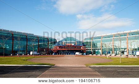 Birmingham, UK - 6 November 2016: Exterior Of The Birmingham National Exhibition Centre NEC