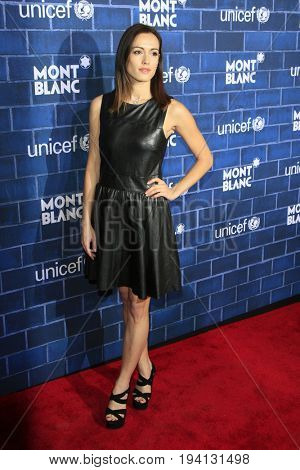 LOS ANGELES - FEB 23:  Leslie Coutterand at the Pre-Oscar charity brunch by Montblanc & UNICEF at Hotel Bel-Air on February 23, 2013 in Los Angeles, CA
