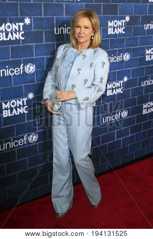 LOS ANGELES - FEB 23:  Kathy Hilton at the Pre-Oscar charity brunch by Montblanc & UNICEF at Hotel Bel-Air on February 23, 2013 in Los Angeles, CA