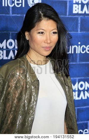 LOS ANGELES - FEB 23:  Monica Chang at the Pre-Oscar charity brunch by Montblanc & UNICEF at Hotel Bel-Air on February 23, 2013 in Los Angeles, CA