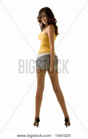 Long Leg Woman