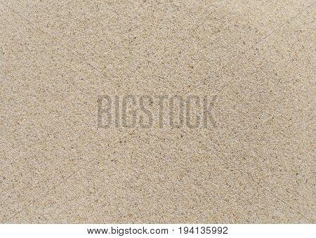 Beach clean sand texture.