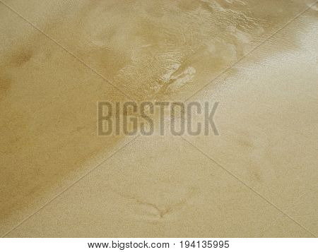 Water and sand natural background