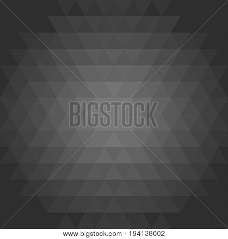 Geometric dark pattern. Background with flow effect. Abstract geometric ornament