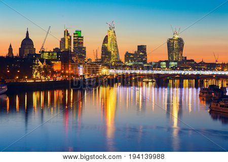 London Sunrise.