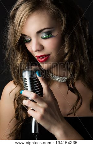 Beautiful Female Singer