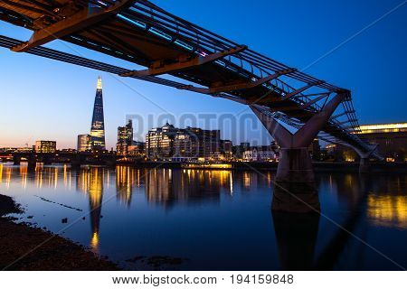 Sunrise At The Shard, London