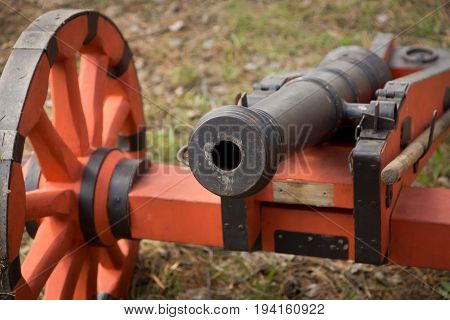 Medieval Russian Infantry Gun Of The Times Of The Conquest Of Siberia