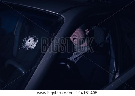 Businessman Killed In The Car
