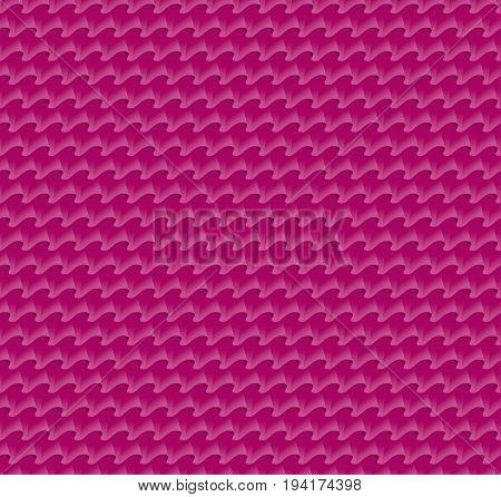 pink fabric folds fashionable pattern. vector illustration of ruffles