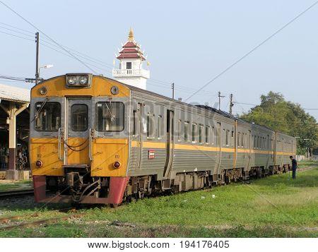 Thn Diesel Railcar No 1112