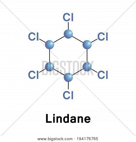 Lindane gammaxene is an organochlorine chemical variant of hexachlorocyclohexane that has been used both as an agricultural insecticide and as a pharmaceutical treatment for lice and scabies