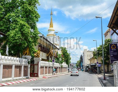 Street In Chiang Mai, Thailand