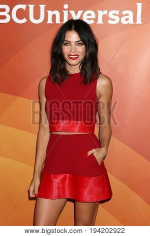 LOS ANGELES - MAR 20:  Jenna Dewan Tatum at the NBCUniversal Summer Press Day at Beverly Hilton Hotel on March 20, 2017 in Beverly Hills, CA
