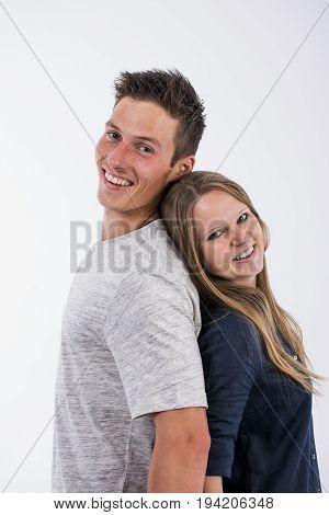 Hapy couple. Relationship, romance, smile,couple, enjoyment. Love.