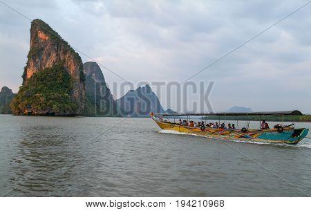 Koh Panyee At Phang Nga Bay, Thailand